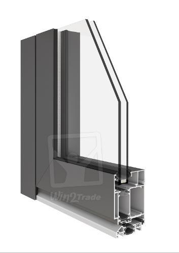 Fenêtres en Alu | MB-60 (Portes en Alu Aluprof)