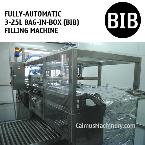 Fully-automatic 3-25 Litre Bag in Box Filler