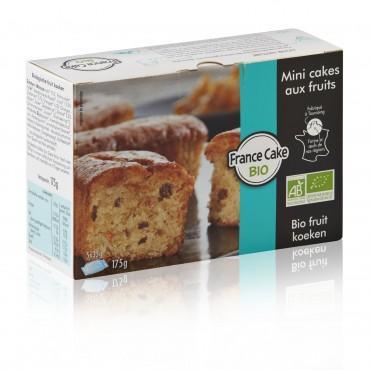 Mini cakes aux fruits BIO