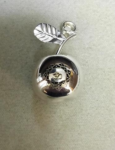 Manzana musical con grabado láser de Ohm