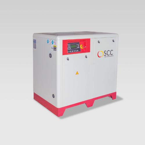 Oil injected screw compressors