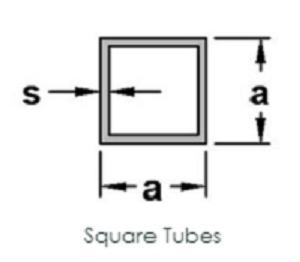 Aluminium Square Tubes ( Any surface)