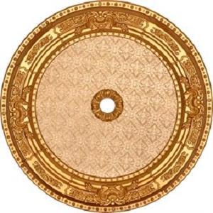 Altın Oval Saray Tavan 60 cm (DO60-A1)