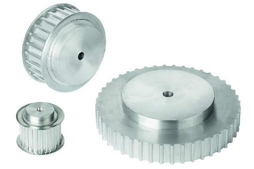 Toothed belt pulleys