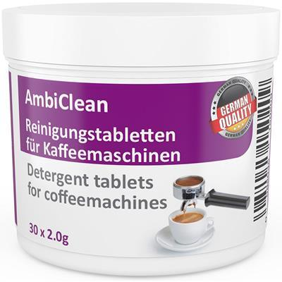30 Cleaning Tablets for Coffee Machines Cleaner