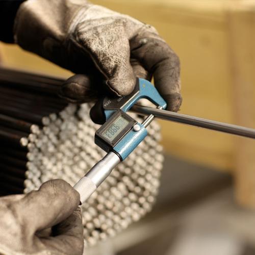 Contrôle qualité solutions aciers