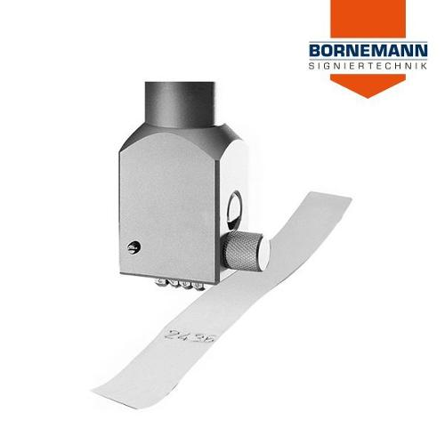 Manual marking type holder