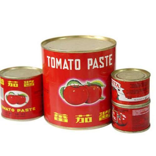 Canned Tomatoes Paste