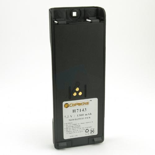 Replacement two-way radio battery for Motorola FuG 11b