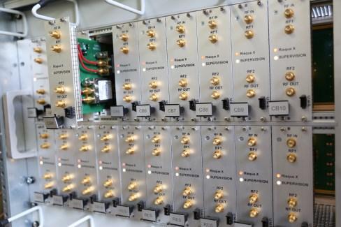 Integration de racks de commande, mesure, instrumentation