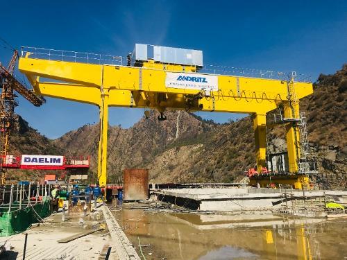 Portique 140 Ton / Gantry 140 ton