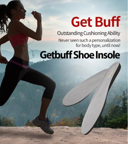 Get Buff Insole for Sports enthusiasts