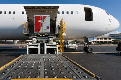 Offerteaanvraag voor verhuizing via luchttransport