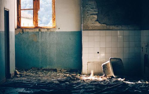Nettoyage sinistre
