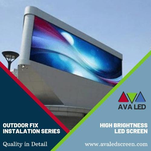 Afișaj LED impermeabil pentru exterior din seria TN-OF