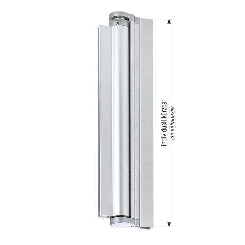 Lift- / Lowering bar aluminium, anodized gloss