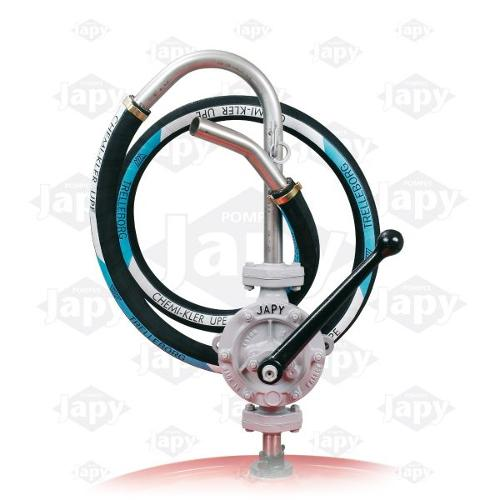 Pumps Equipped With A Upe Hose For Non-Flammable Aggressive Solvents