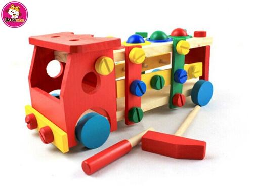 wholesale high quality  wooden train