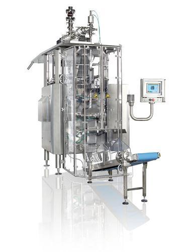 Dosing of abrasive fluids into tubular bags