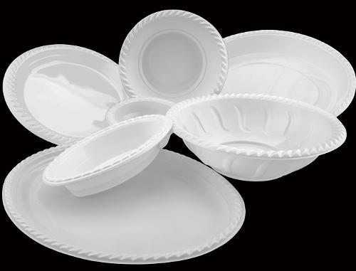Disposable Plastic Plates by Dispo Plastik