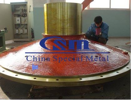 磨机端盖 进出料口 Ball mill head, ball mill feed inlet and outlet