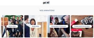 Animations photo pour événements professionnels.