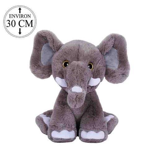PELUCHE ELEPHANT 30CM