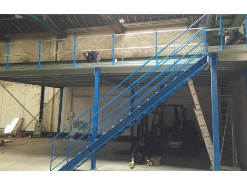 Plate-forme De Stockage De 5 M² - 250 Kg/m²