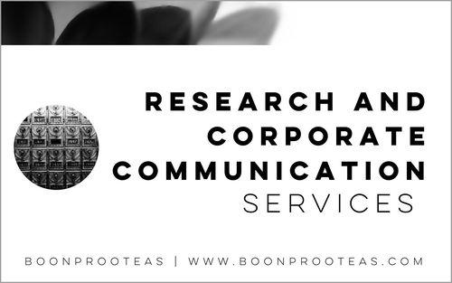Research and Corporate Communication