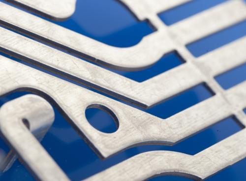 Bent strip parts