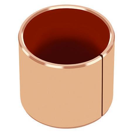 Metal-Polymer Bronze Backed PTFE Plain Bearing