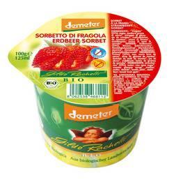 Crème glacée fraise