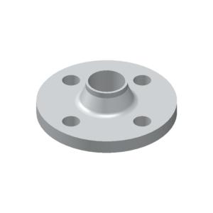 Welding Neck Flange, aluminium acc. to EN 485, EN AW 5754