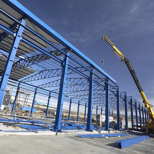 Промышленное строительство склады хранилища ангары
