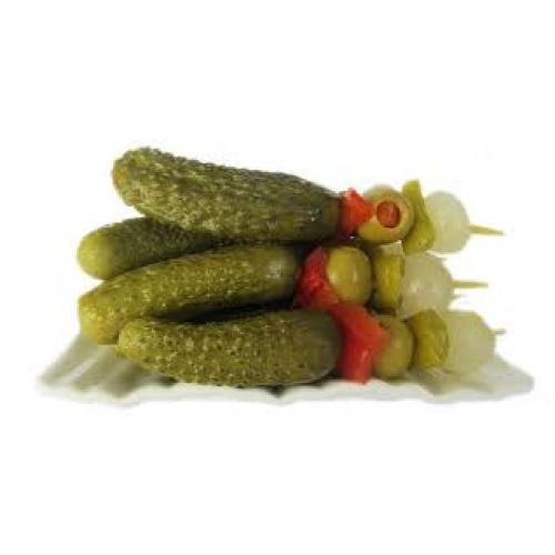 BANDERILLAS de vegetales