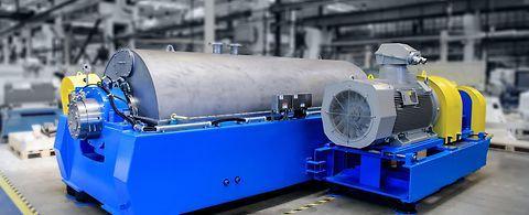 ANDRITZ decanter centrifuge ACZ for efficient plastics...
