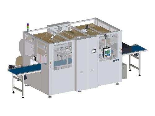 PB 800 E-Com paper packaging machine