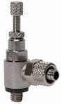 Throttle check valve, Discharge throttle ( C ) quick...