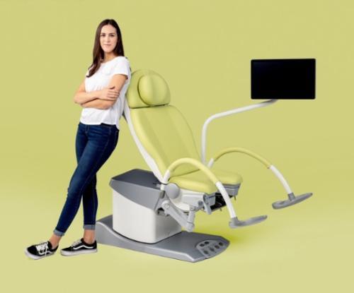 vidan®2 Vidéocolposcope Full HD intégré dans le fauteuil gyn