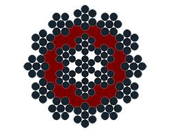 19X7 Plastic covered core (Polyurethane)