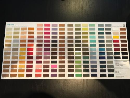 Cartella Colori/Colour Card