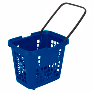 Big basket with wheels