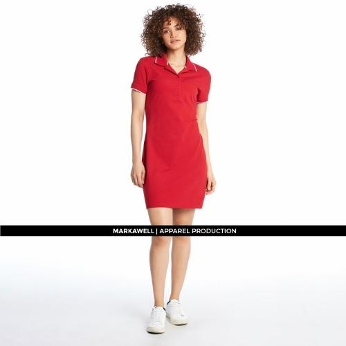WOMAN POLO DRESS