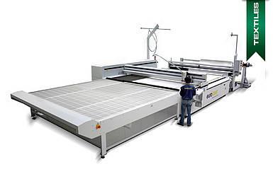 Laserschneidemaschine für Textilien