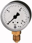 Standard pressure gauge, radial bottom, G 1/8, 0 - 40...