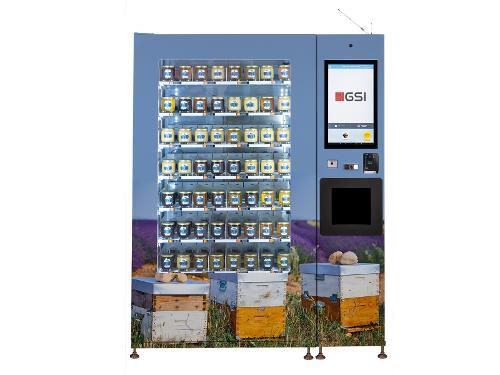 Distributeur de pots de miel ROBOMAT + CB Valina