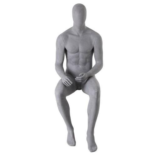 Manichini seduto uomo