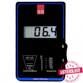 Moisture indicator for wood and buildings IM15