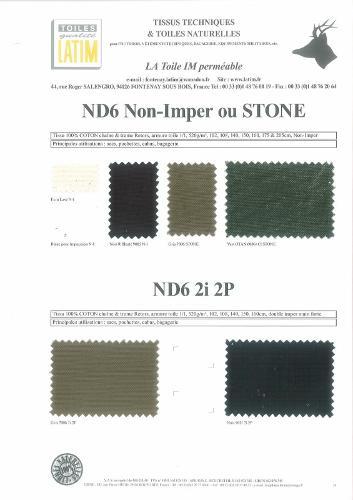 ND6 Non-Imper ou STONE & ND6 2i 2P