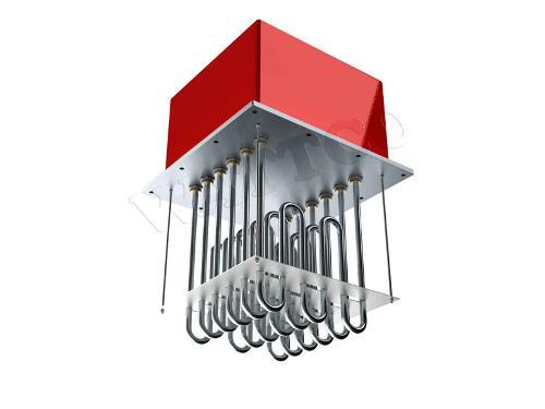 Calentadores tubulares de ducto
